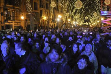 No celebrations for New Year in Palma this year.