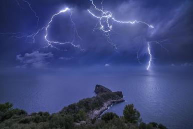 """Sa Foradada Storm"" by Marc Marco Ripol."