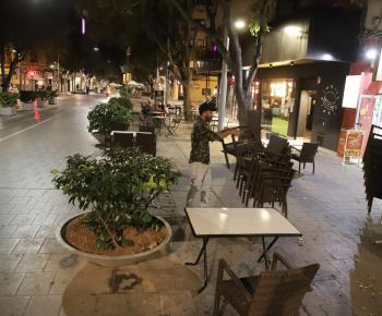 Curfew in Mallorca. The photographs.