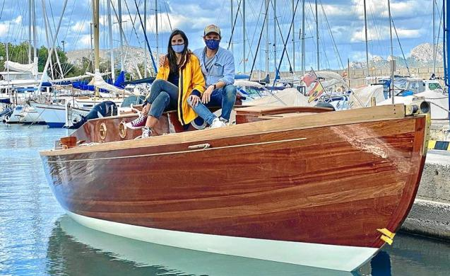 L'Absurd sailboat, Mallorca