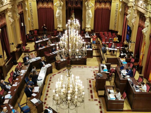 The Balearic parliament