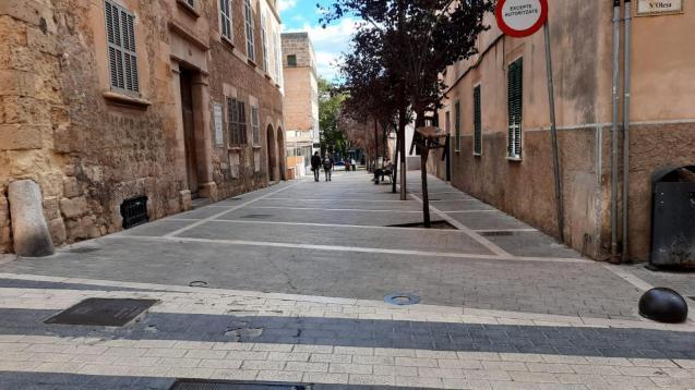 Manacor, Mallorca, where there is Covid confinement