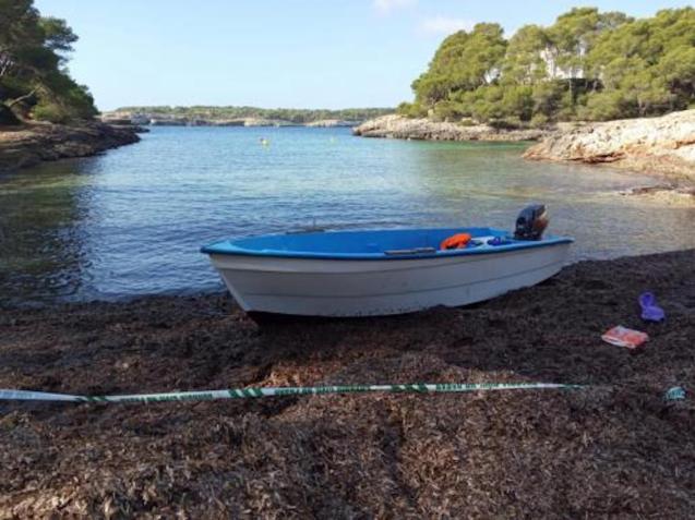 Patera in Mallorca.