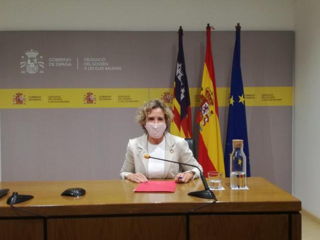 Aina Calvo, the Spanish government's delegate in the Balearics