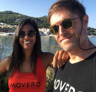 Simone Burns and Simon Francis, Co-founders of Movero.
