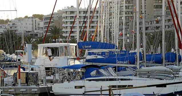 The yacht charters could be seen moored on the Paseo Maritimo in Palma.