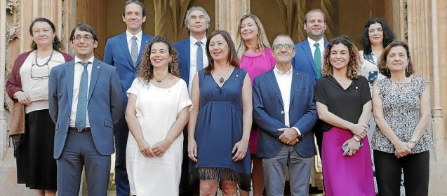 Members of the Balearic government