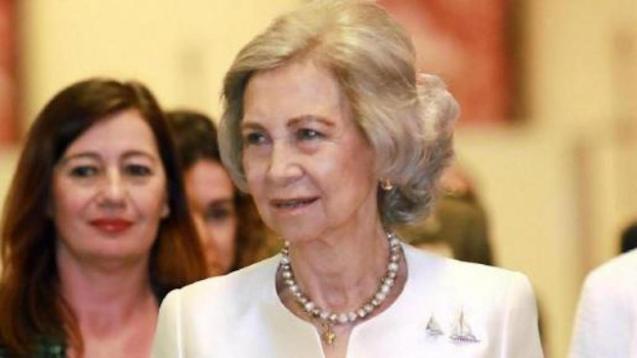 Queen Sofía.