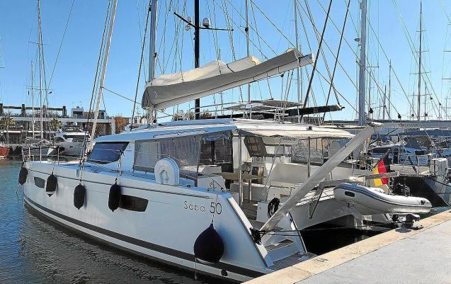 Stolen catamaran found in Palma