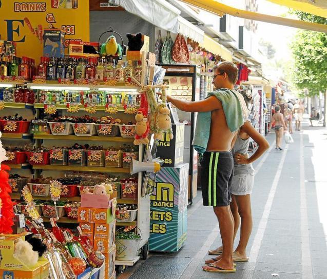Tourists in Mallorca