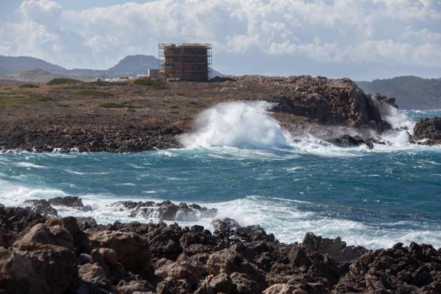 Strong gusts of wind were registered in Minorca in October where the port had to close down for 6 hours.