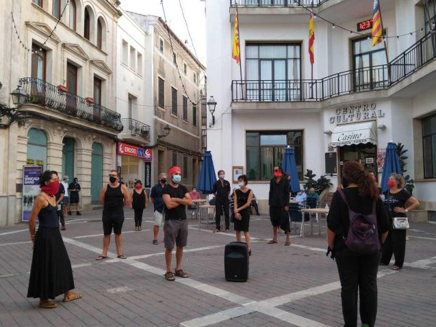 Gathering in Minorca to save culture due to the coronavirus