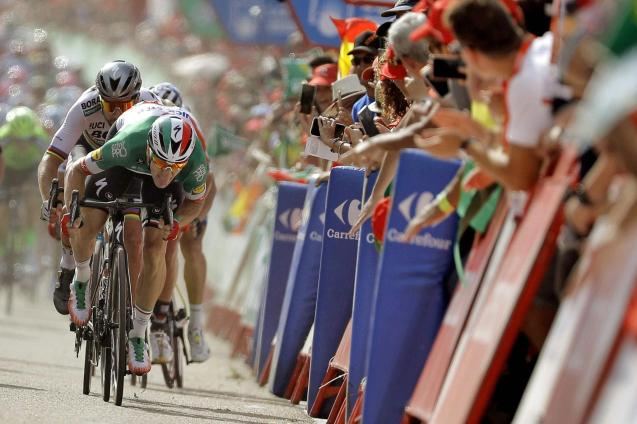 The Vuelta a España cycling event
