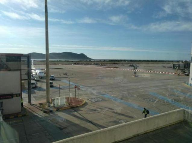 Ibiza Airport.