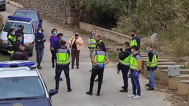 Murder scene reconstruction: Palma, Mallorca