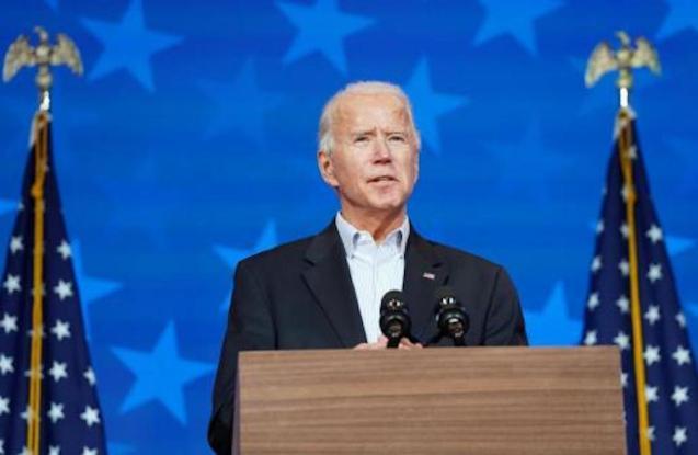 Joe Biden, US Presidential Candidate.