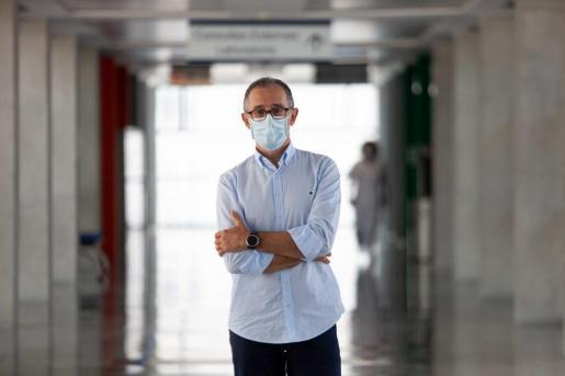 Dr. Javier Arranz, spokesperson for the Balearic committee for infectious diseases