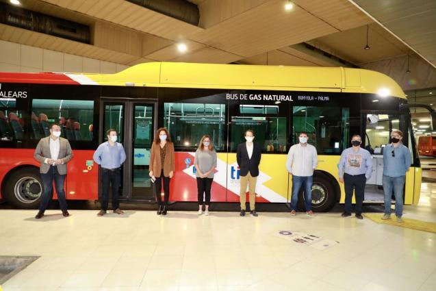 Natural gas bus, Mallorca