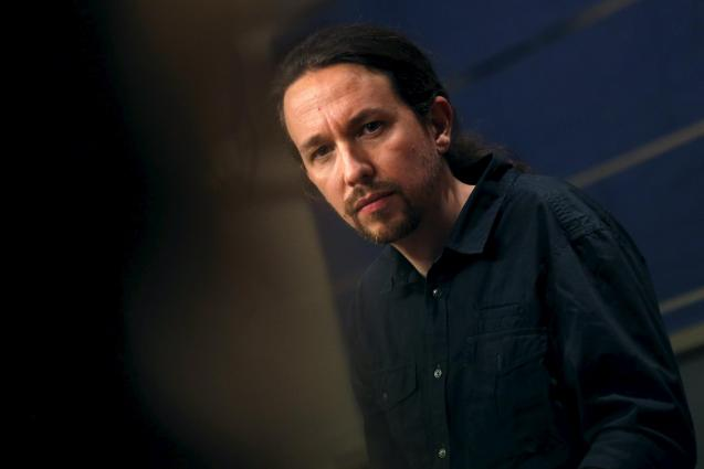 Podemos party leader Pablo Iglesias.