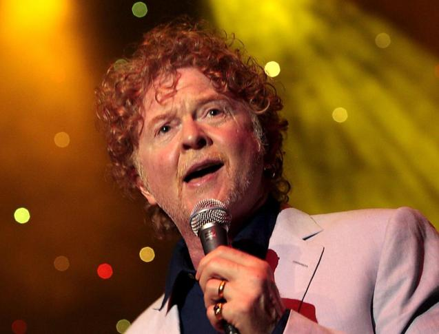 Mick Hucknall from Simply Red.