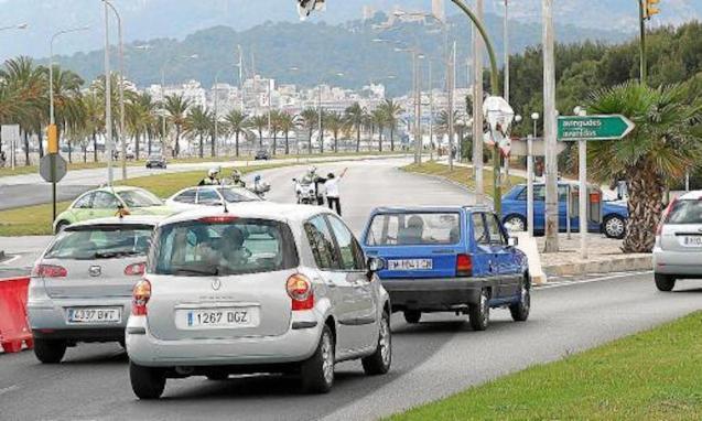 Traffic in Palma.