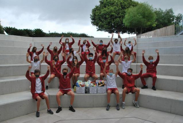 Academy International School families donate to charity