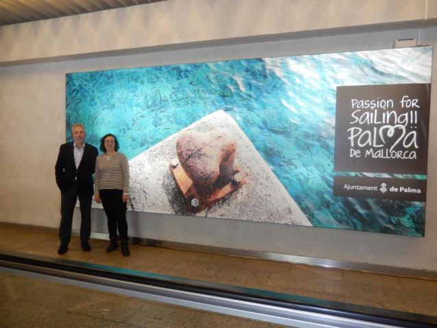 Palma Mallorca promotion at Son Sant Joan Airport
