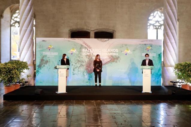 Balearics presentation, virtual World Travel Market