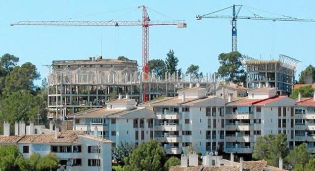 Public housing under construction.