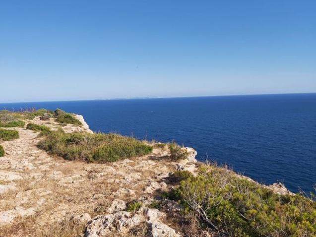 Southern coastline of Mallorca