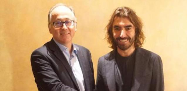 Lluis Gallego, CEO, IAG & Javier Hidalgo, Chief Executive, Air Europa.