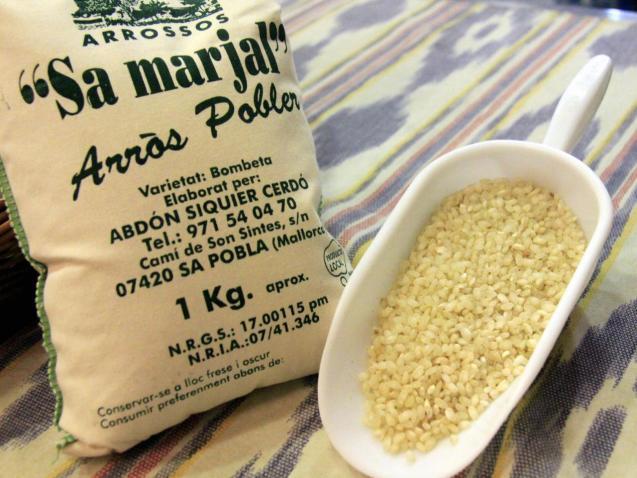 Sa Pobla's rice