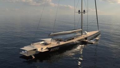 APEX 850 yacht.