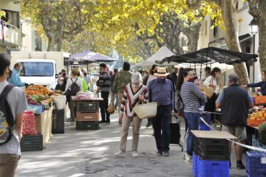 Pollensa market.