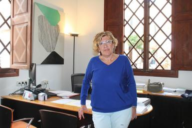 Barbara Rebassa, the mayor of Alcudia.