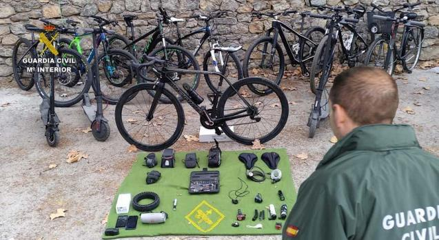 Stolen bikes in Mallorca