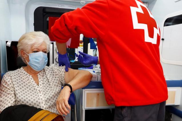 Flu vaccination in Spain