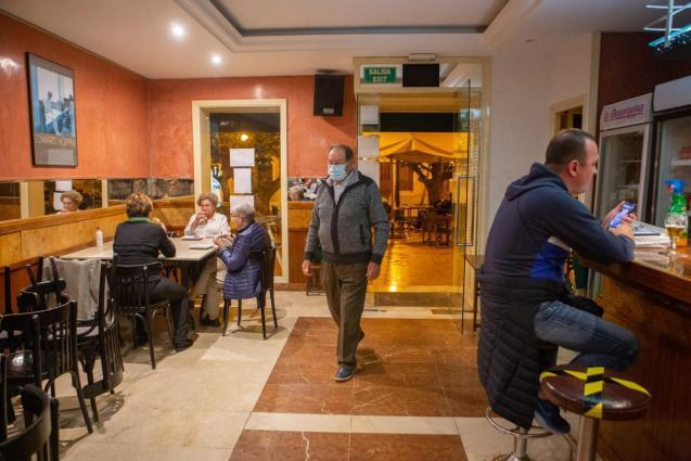 A bar in Menorca.