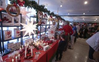 Christmas market at the Swedish church in Palma