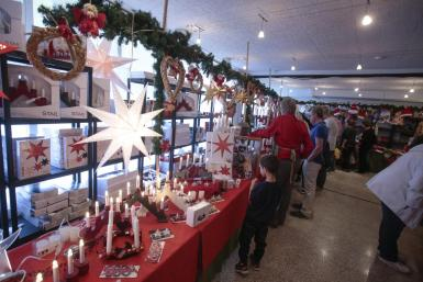 Christmas market at the Swedish church in Palma.