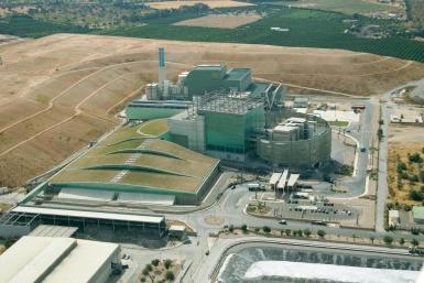 The Son Reus waste incineration plant.