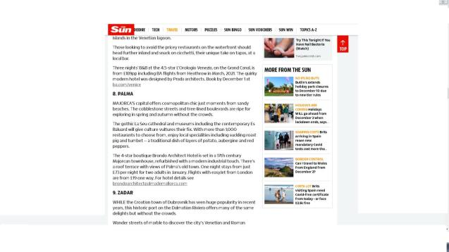 The Sun recommends Palma
