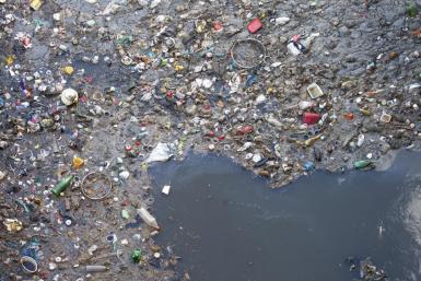 Mediterranean Sea pollution.