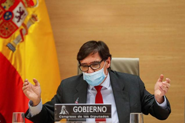 Salvador Illa, Spain's health minister
