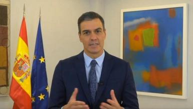Pedro Sánchez, speaking at the Tourism Innovation Summit.