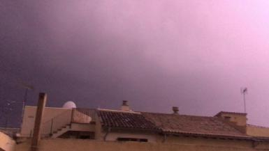 Thunderstorms in Palma.