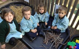 Queen's College Nursery children