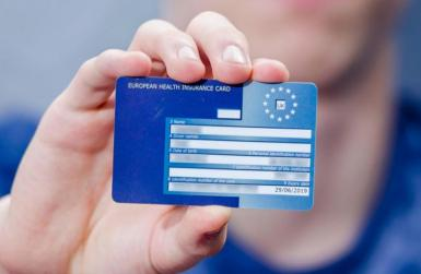 The EHIC card, about to be obsolete.
