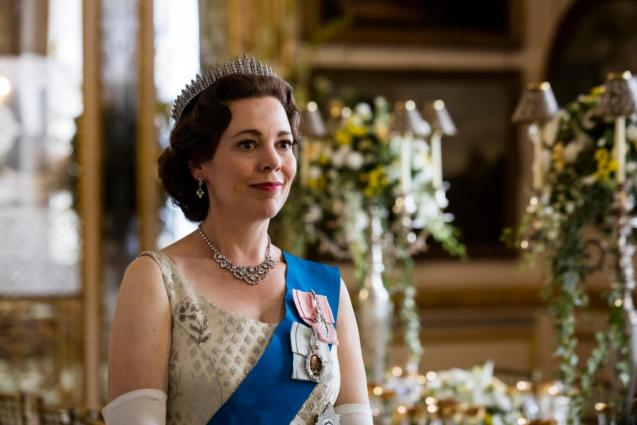 """Olivia Colman, from the series """"The Crown"""""""