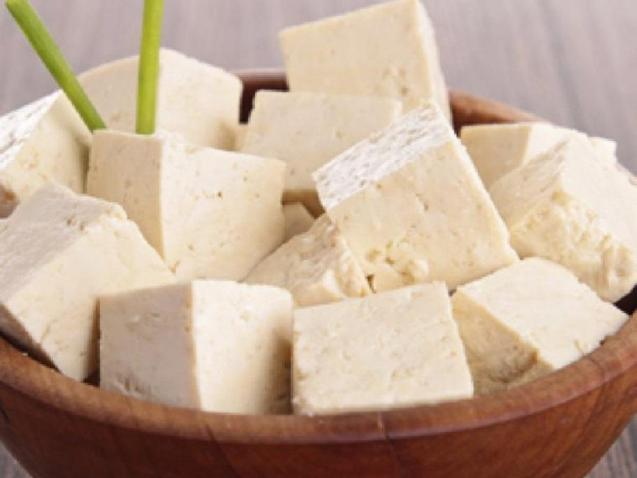Tofu veggie food